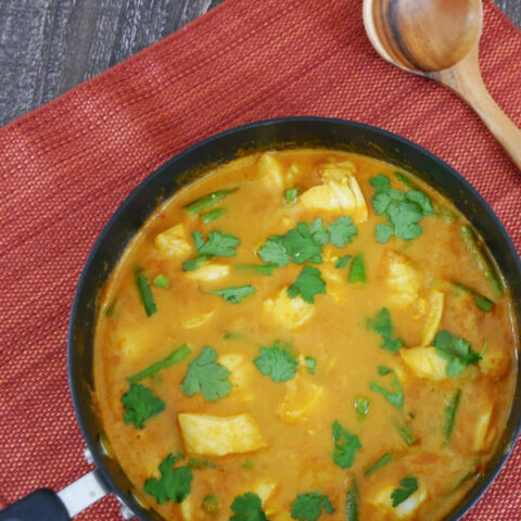 Low Carb Indian Fish Curry