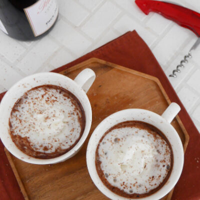 Low Carb Red Wine Hot Chocolate
