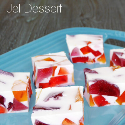 Low Carb Broken Glass Jel Dessert