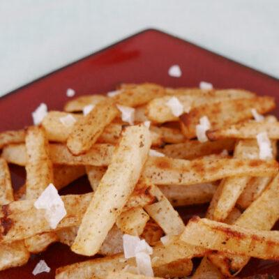 Low Carb Daikon Fries