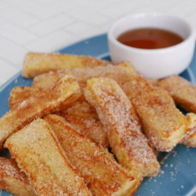Low Carb French Toast Sticks