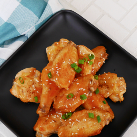 Sugar Free Sweet and Sour Wings