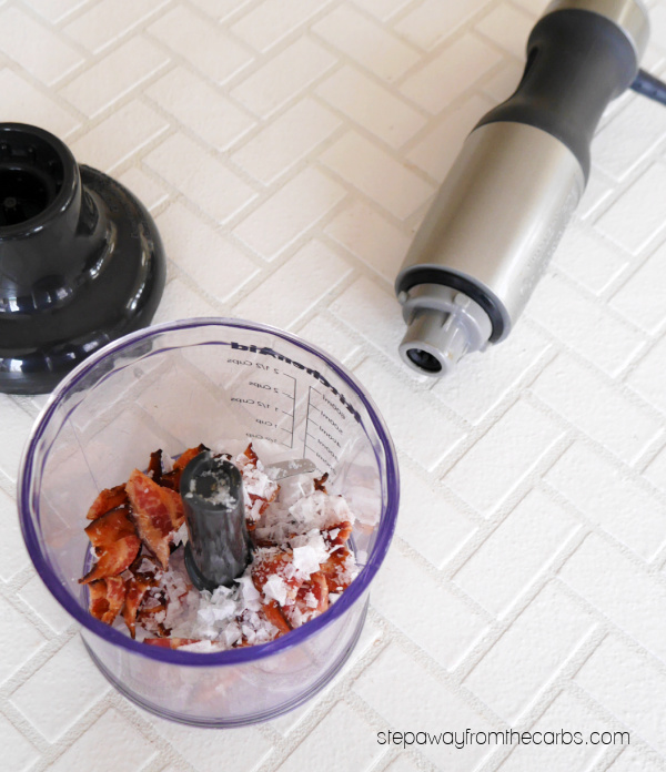 How to Make Bacon Salt - a fantastic seasoning with a ton of flavor!