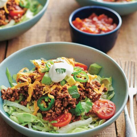 Keto Fiesta Taco Salad