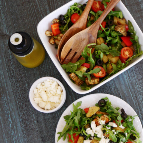 Low Carb Eggplant Salad