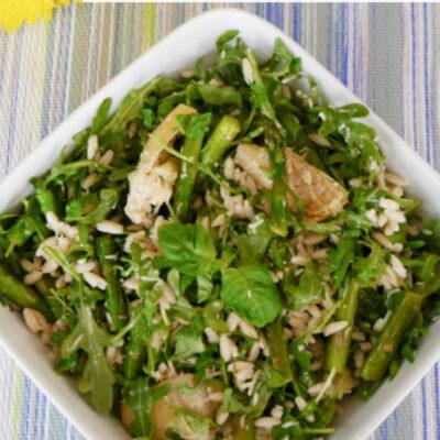 Low Carb Orzo Salad