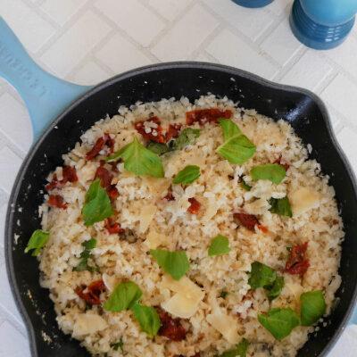Italian Cauliflower Rice