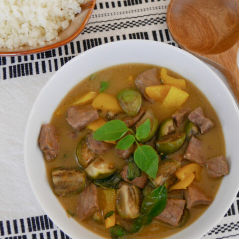 Low Carb Thai Green Curry