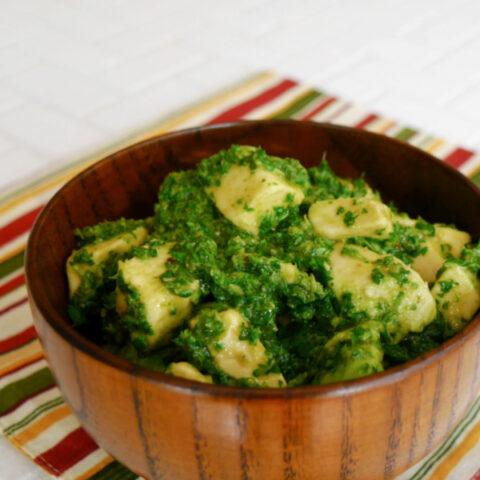 How to Make Avocado Chimichurri