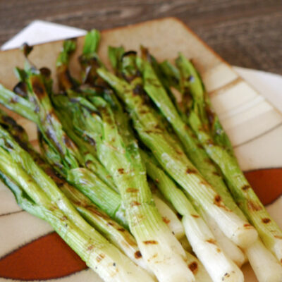 Keto Grilled Green Onions