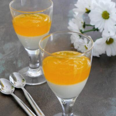 Keto Peaches and Cream Dessert