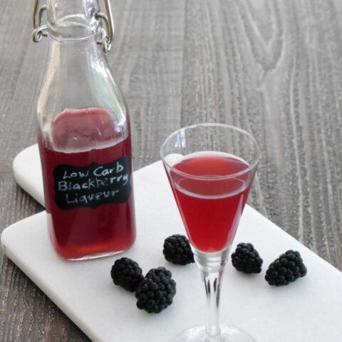 Low Carb Blackberry Liqueur