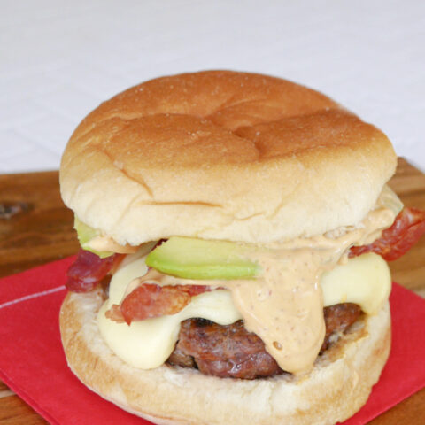 Low Carb Chipotle Burgers