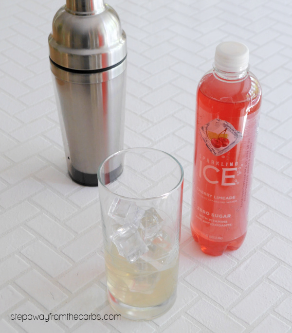 Low Carb Singapore Sling Cocktail - a fruity gin-based cocktail that is sugar free and very low in carbs