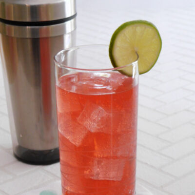 Low Carb Singapore Sling Cocktail