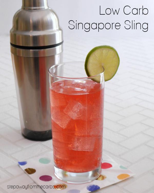 Low Carb Singapore Sling