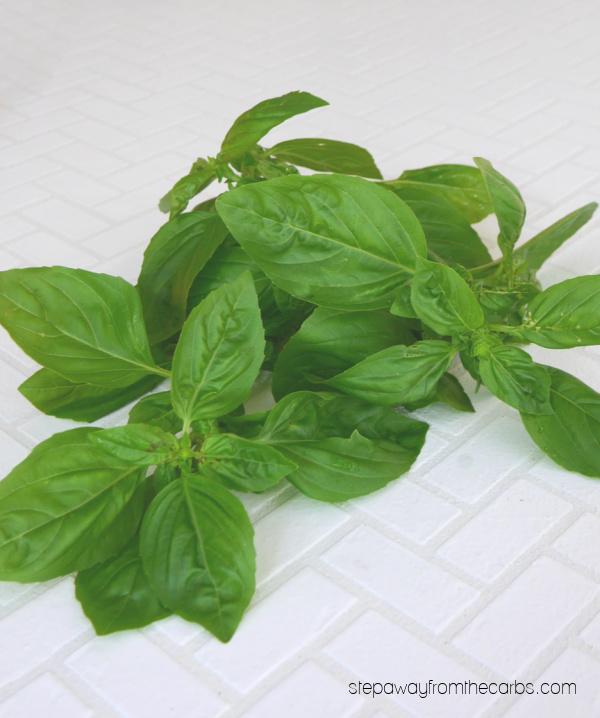 Fresh Basil - Uses for Leftover Herbs