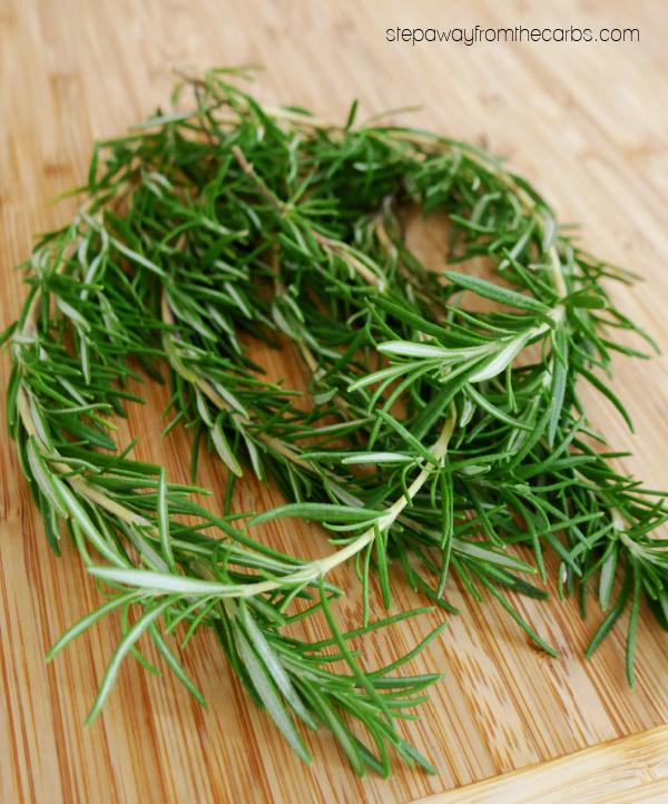 Fresh Rosemary - Uses for Leftover Herbs