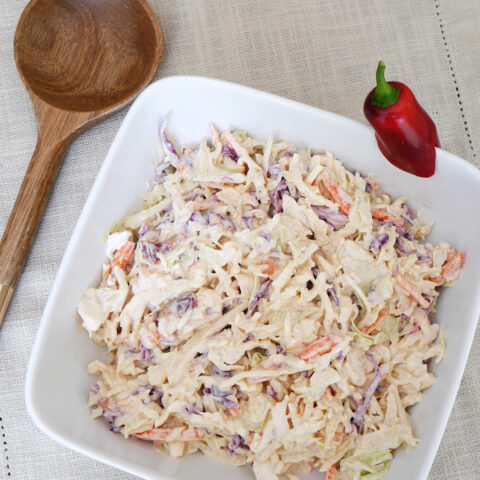 Low Carb Chipotle Coleslaw