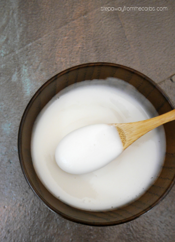 Low Carb Icing and Glaze - whether you want it pourable or spreadable, here's an easy sugar-free recipe for you to try!