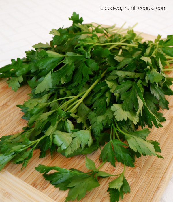Fresh Italian Parsley - Uses for Leftover Herbs