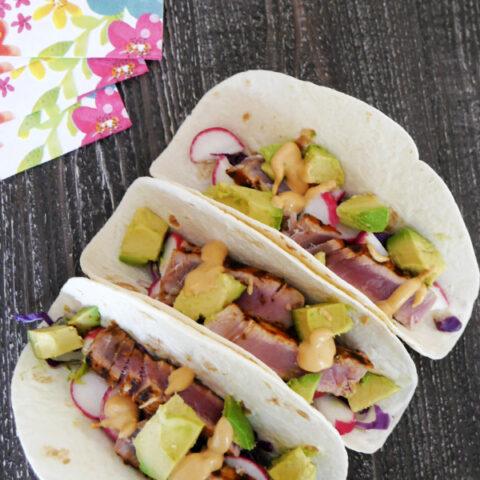 Low Carb Tuna Tacos