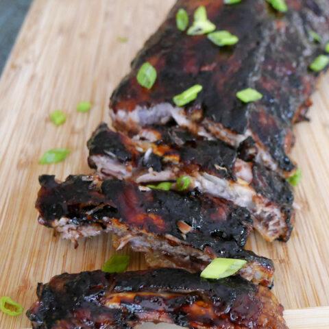 Low Carb Pork Ribs with a Tamarind Glaze