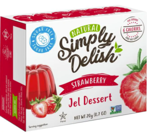 Simply Delish Strawberry Jel Dessert