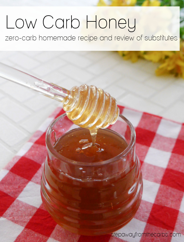 Low Carb Honey – substitutes and zero-carb homemade option