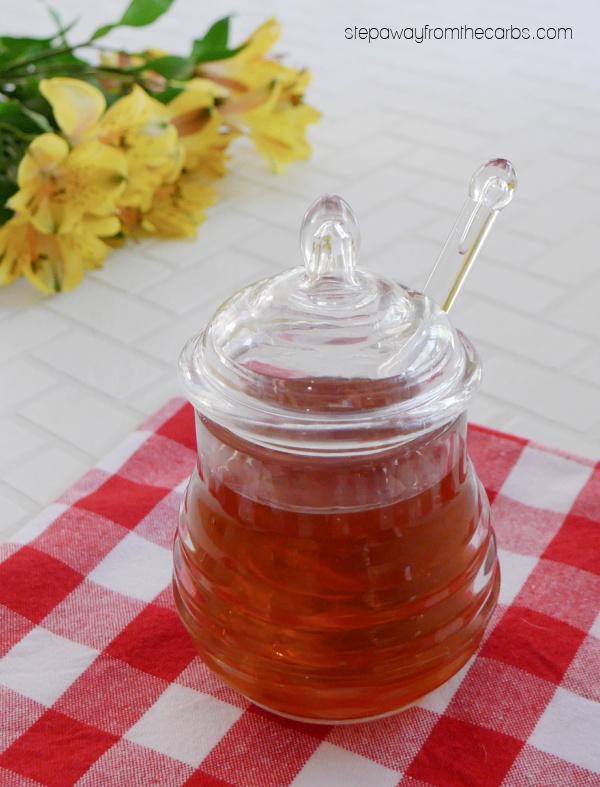 Zero-Carb Honey - a sugar-free homemade honey recipe