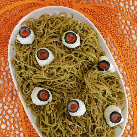 Low Carb Halloween Spaghetti